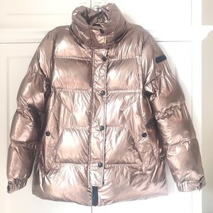 NWT Sam Edelman Rose Gold Winter Coat